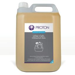 Proton Lemon Gel Thickened Floor Cleaner - 5L