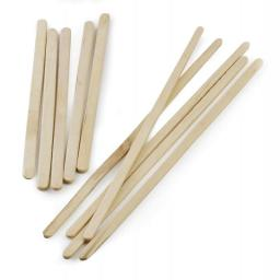 "Wooden Stirrers 7"" Biodegradable Disposable High Quality Single Use Cutlery"