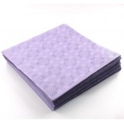 Lilac Disposable Paper Table Cover Cloth 90x88cm - 25 Sheets