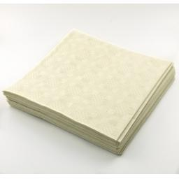 Ivory Cream Disposable Paper Table Cover Cloth 90x88cm - 25 Sheets