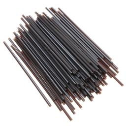 Black Cocktail Straws 130mm x 3.5mm Slim Mini Sip Drink - Party Martini