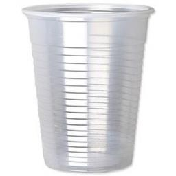 Clear Plastic 7oz Strong Drinking Tumbler Disposable Cups For Water Coolers