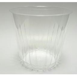 9oz Clear Plastic Strong Crystal Mixer Glasses Cups Disposable - Juice Wine Whisky