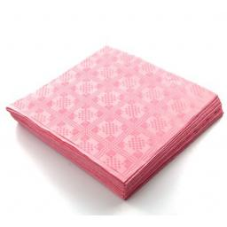 Baby Pink Disposable Paper Table Cover Cloth 90x88cm - 25 Sheets