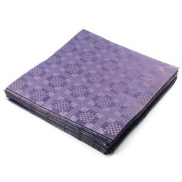 Purple Disposable Paper Table Cover Cloth 90x88cm - 25 Sheets