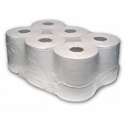 White Center feed Rolls Hand Paper Towels 2 Ply 100m - 6 Pack