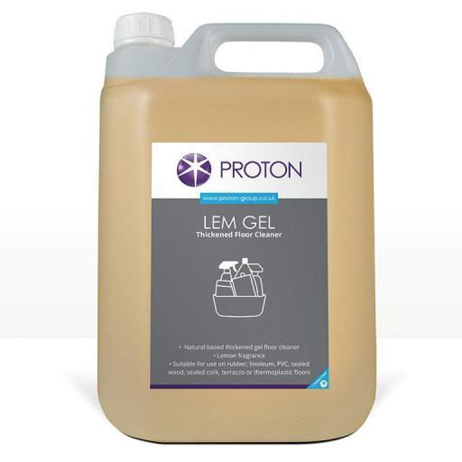 Proton Lemon Gel Thickened Floor Cleaner - 5L