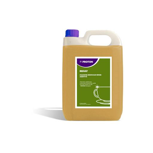 Proton Result Machine Dish Wash Rinse Aid Additive - 5L
