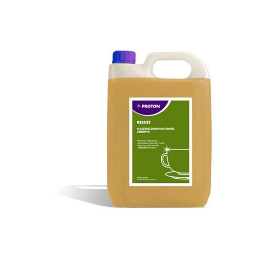 Proton Result Machine Dish Wash Rinse Aid Additive - 5L