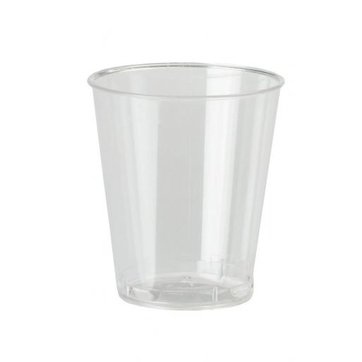 Clear Plastic 50ml 2oz Shot Sampling Cups Glasses Strong Drinking Tumbler Disposable