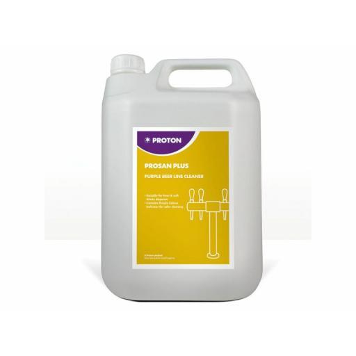 Proton Beerline Prosan Plus Purple Detergent - 5L