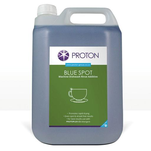Proton Blue Spot Machine Dish Wash Rinse Aid Additive - 5L