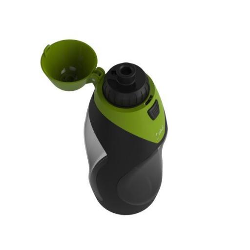 Green - nkd POD+ Filter Water Sports Bottle (2017 Version) 585ml With Natural Antioxidants