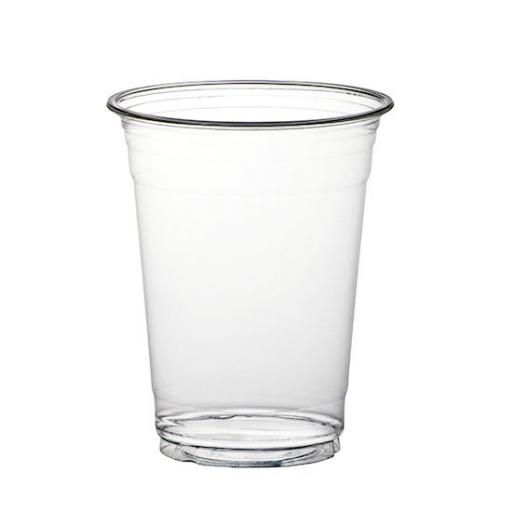 Clear Plastic Smoothie Cups 16oz / 455ml - Milkshake Cold Disposable Drinks Cups