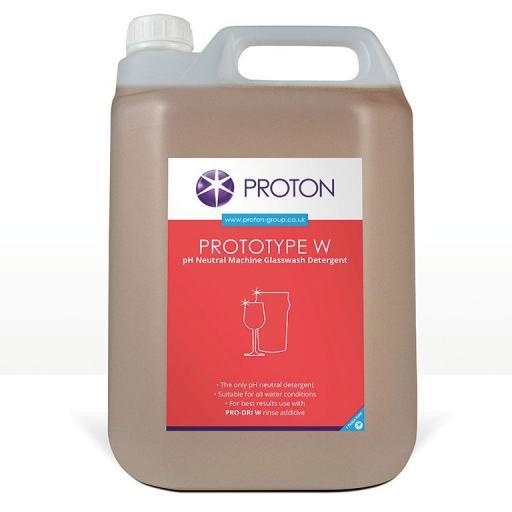 Proton Protoype W Glass Wash Detergent - 5L