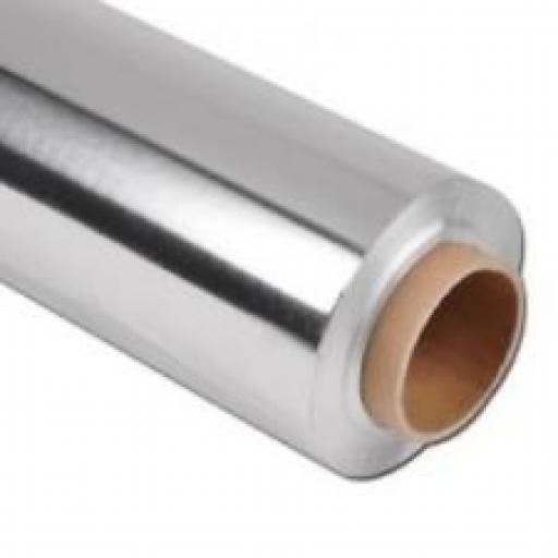 Aluminium Kitchen Catering Foil 450mm x 75m with inbuilt Cutter - Catering Size