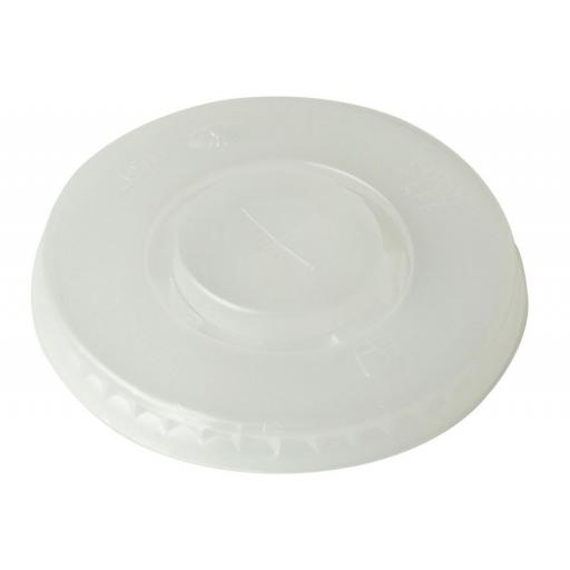 Straw-slot lids for 9oz & 12oz Cold Drink Cups for Fast Food Cold Drinks