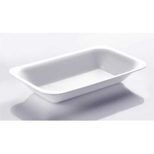 Linpac C3 Chippy Tray White Foam Polystyrene - Large