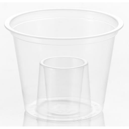 Bomb Shots Cups 60ml / 25ml Clear Plastic Glasses Drinking Mixers Disposable for Red Bull & Jagerbomb Jagermeister