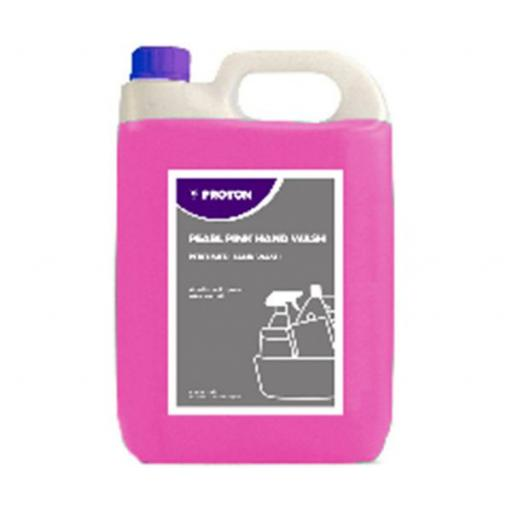Proton Pink Pearl Hand Wash Soap Food Hygiene Safe perfumed - 5L