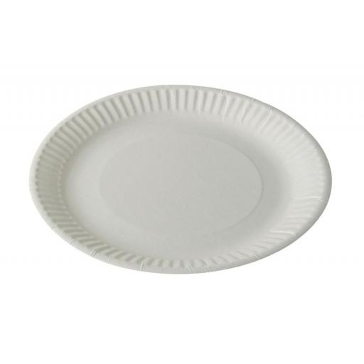"Economy Paper Plates 23cm / 9"" Paper Disposable Plates"