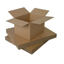 "Single Wall Cardboard Postal Packaging Mailing Boxes 8""x8""x8"""