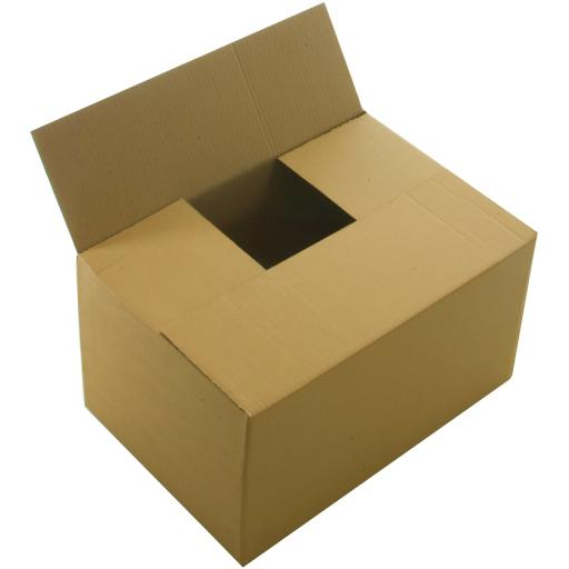 "Single Wall Cardboard Postal Packaging Mailing Boxes 12""x9""x7"""