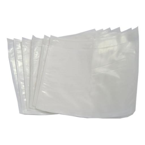 A6 Plain Clear Documents Enclosed Wallets Envelopes - 110mm x 158mm - QTY 1000