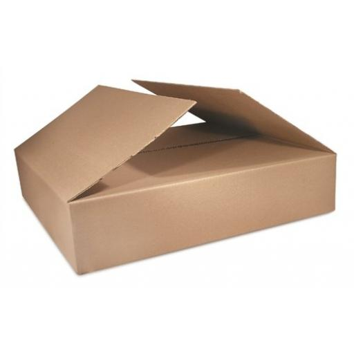 "Single Wall Cardboard Postal Packaging Mailing Boxes 18""x12""x7"""
