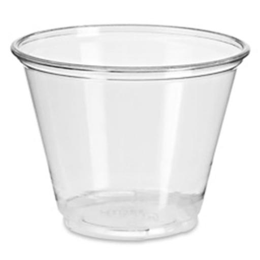 Clear Plastic Smoothie Cups 9oz Squat / 255ml - Dessert Milkshake Cups Disposable