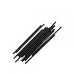 Black Paper Cocktail Drinking Straws - Biodegradable Eco Compostable - 145mm x 5mm