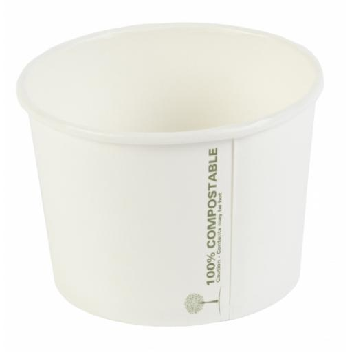 Ingeo 16oz Round Compostable Soup Container - Large