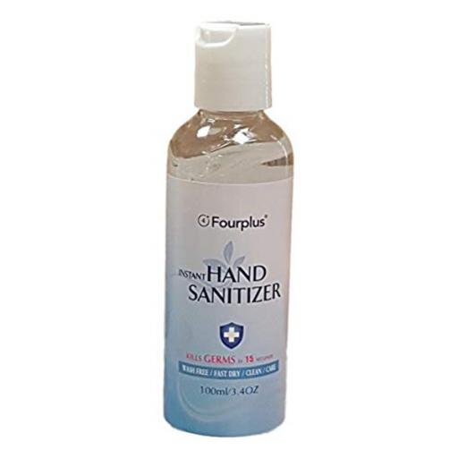 Instant Hand Sanitizer Gel, Antibacterial, 70% Alcohol - 100ml Bottle PPE