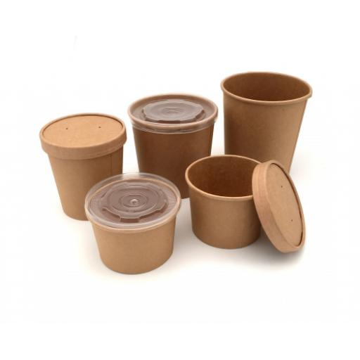 Paper - Kraft Soup Containers