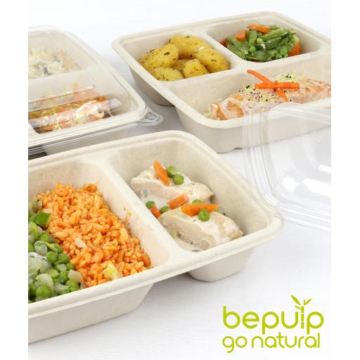 Compostable - BePulp Bagasse Containers