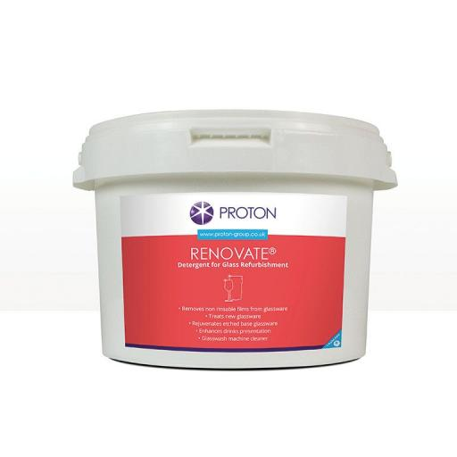 Proton Renovate Glass Renovator Rejuvenate Your Glassware 2.5kg