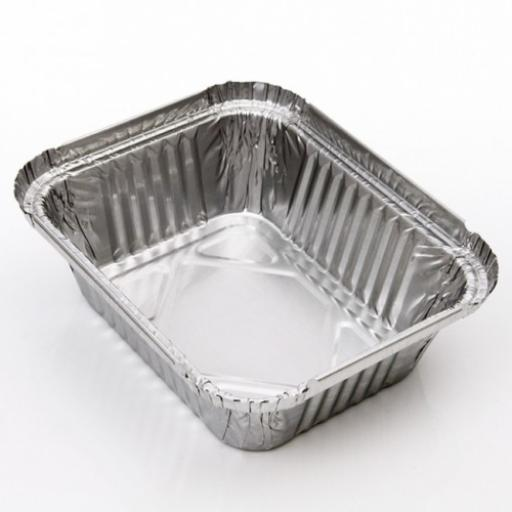 Foil Containers No 2 Aluminium - Hot Cold Food Takeaways